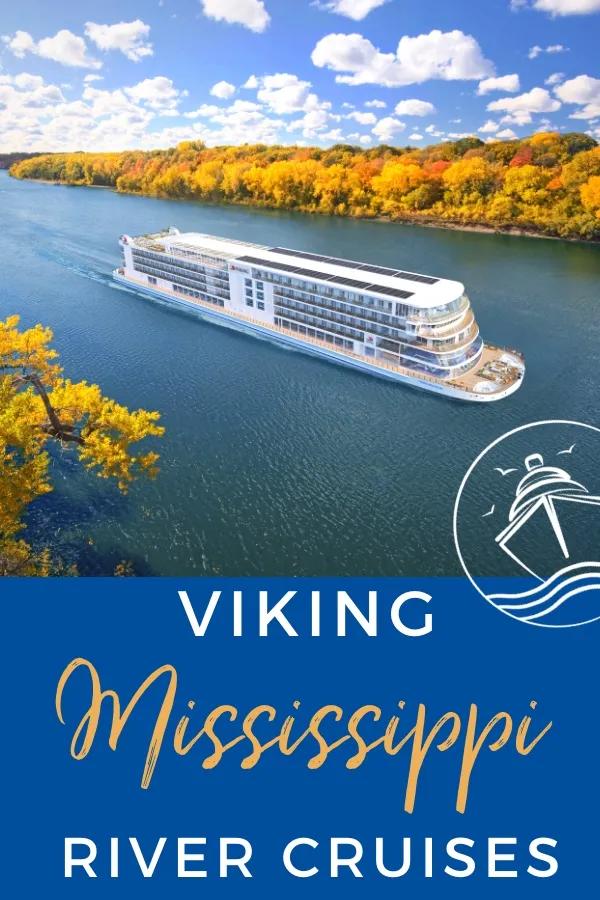 Details Announced For Viking S New Mississippi River Cruises Eatsleepcruise Com Mississippi River Cruise River Cruises Viking Cruises Rivers