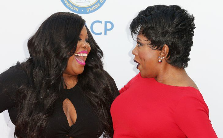 Pin for Later: 30 Photos From the NAACP Image Awards That You Need to See Now  Pictured: Amber Riley and Sheryl Lee Ralph