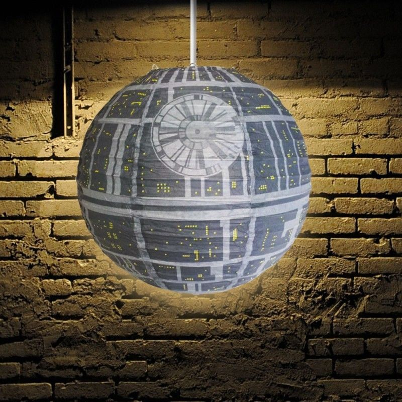 Star Wars Lampshade Paper Shade Printed For Suspended Lamps 29 5x30cm
