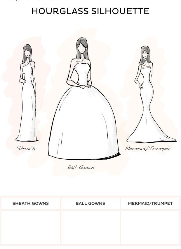 Wedding Dress Style - Hourglass style wedding dresses from David\'s ...