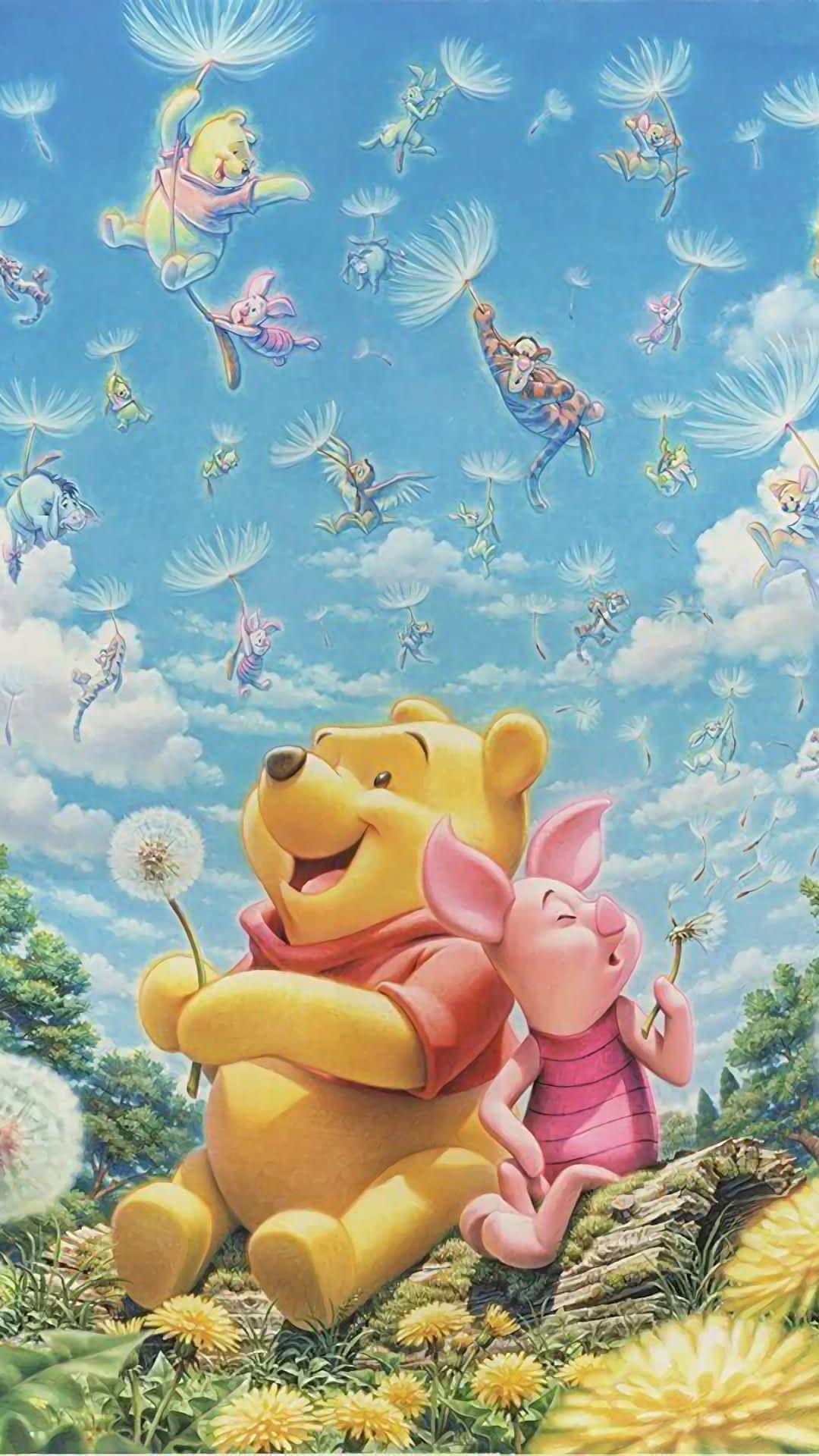 New Iphone Wallpaper Iphone Wallpaper Winnie The Pooh Cartoon Cute Winnie The Pooh Winnie The Pooh Pictures
