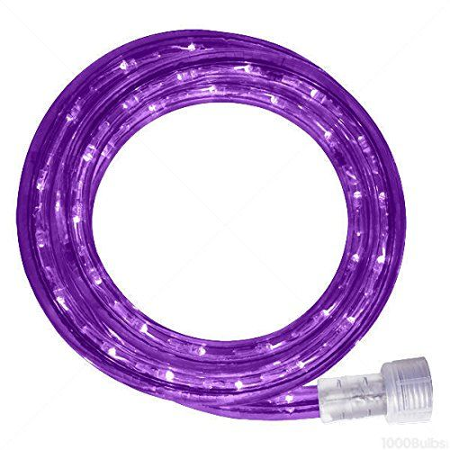 Purple Rope Lights Mesmerizing 24 Ft Led Rope Light Purple 120V Signature Led13Mmpu24Kit * Want To Inspiration Design