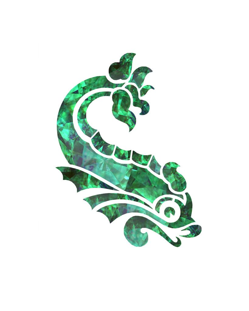 Chinoiserie Art Prints Koi Fish Art Green Art Emerald Art Fish Print ...