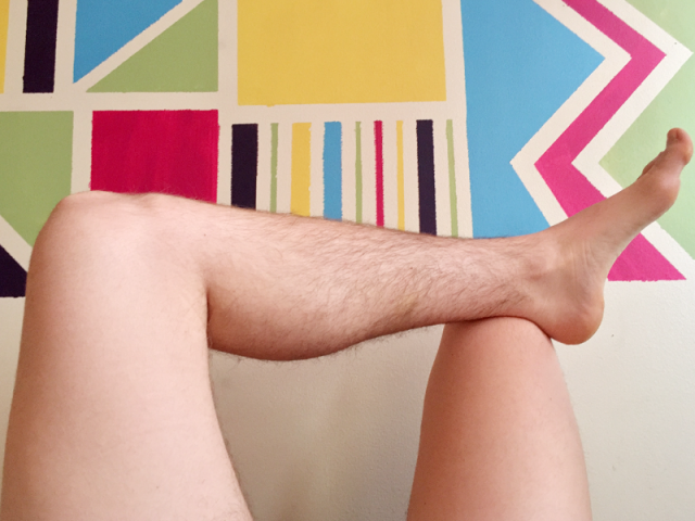 I Grew Out My Leg Hair And You Can Too Autostraddle Leg Hair Glow Hair Hair