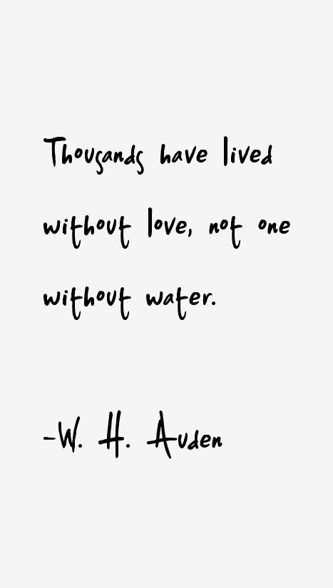 W H Auden Quotes Sayings Gratitude Pinterest Quotes