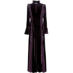 Fendi Velvet and Silk Gown | fashion | Pinterest | Silk gown ...