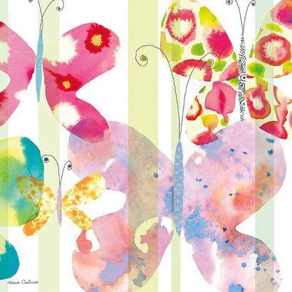 Art.com - Butterfly Square II Art Print