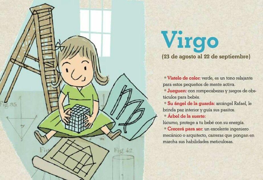 Los niños  con signo Zodiacal Virgo.