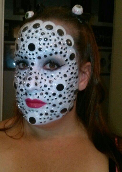 Pin On Halloween Make Up