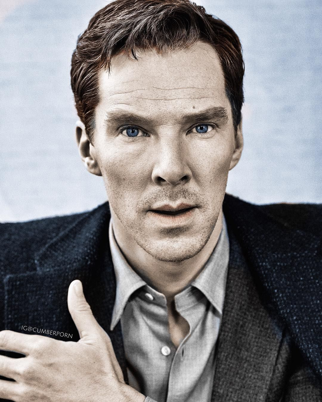 Hand over heart we pledge our undying love for Cumberbatch…