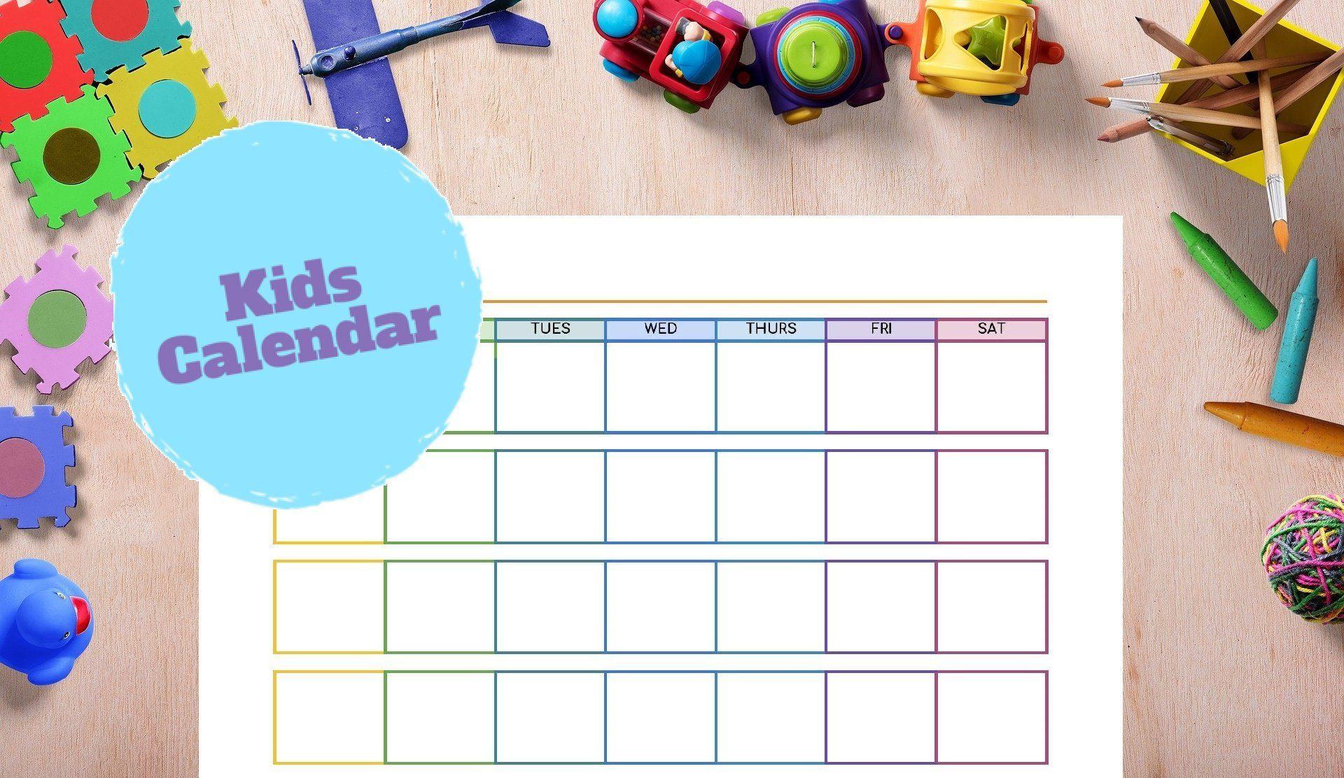 Kid Calendar