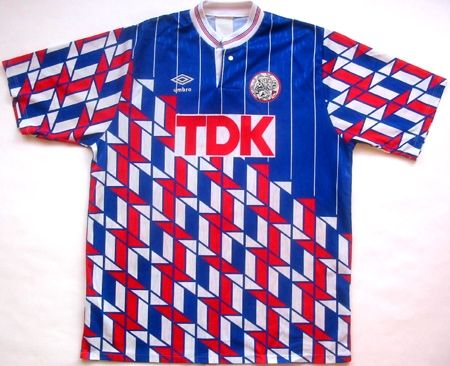 3619f3b97 Ajax 1990, away | S**t Kits | Vintage football shirts, Classic ...