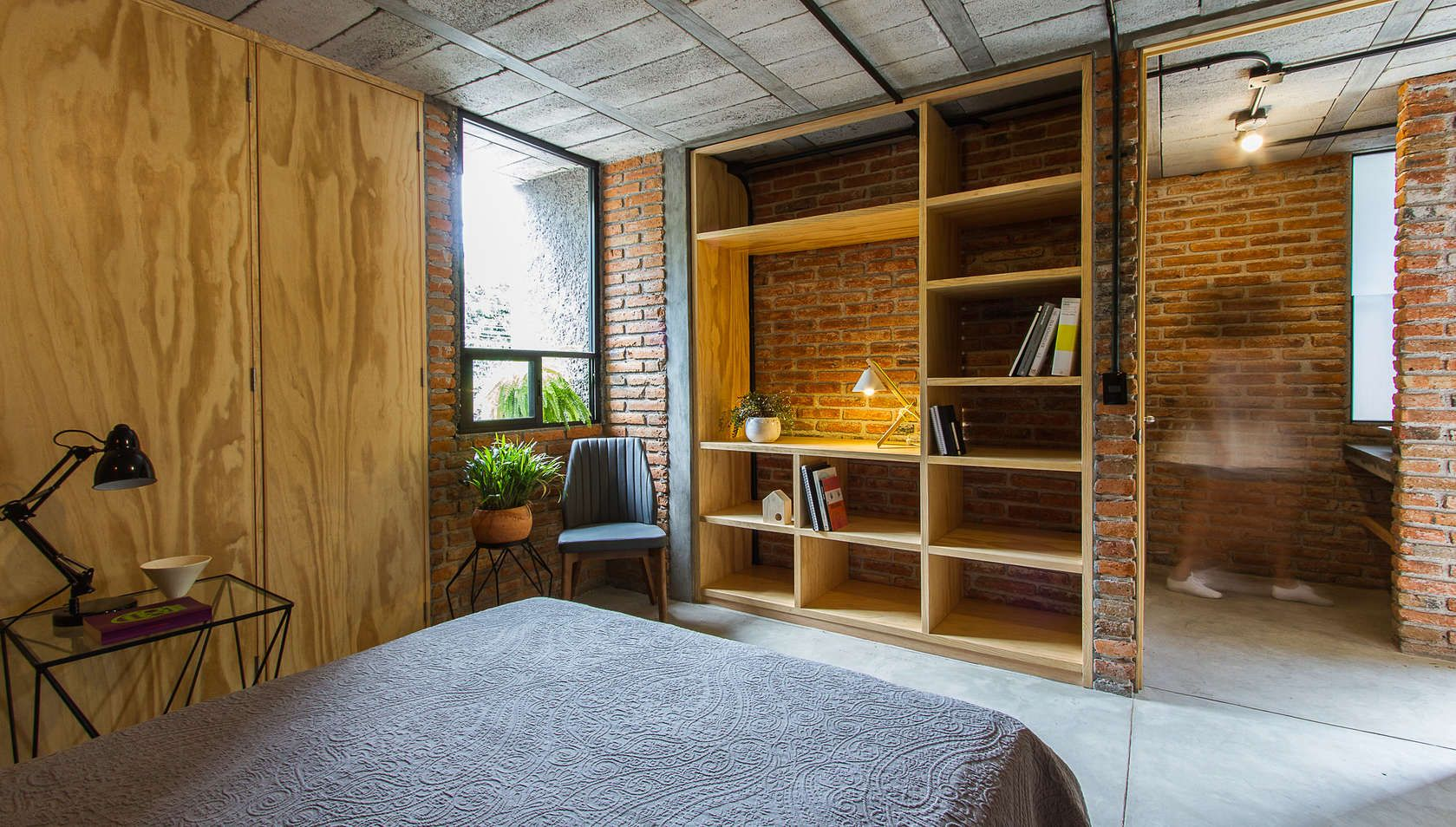 Acting As Both A Space For Living And Working, U0027Casa Estudiou0027 Is A  Modest Sized Home Located In A Micro Industrial Area Of Queretaro City.