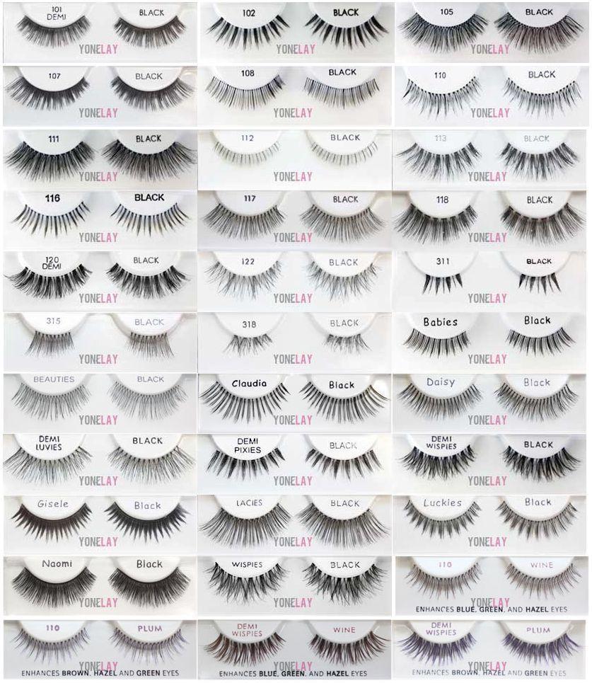 ed6d225b84b Lot 10 Pairs - ARDELL False Eyelashes Fashion Lash Fake Eye Lashes  Invisibands   eBay