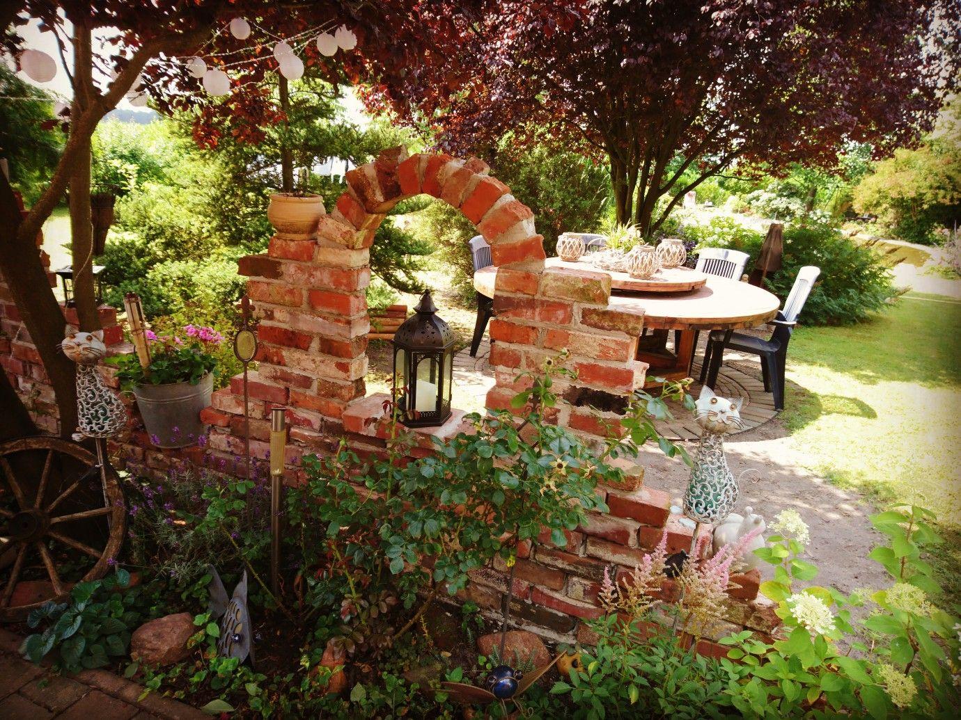 Beetbegrenzung Garten alte mauer als beetbegrenzung natur und garten