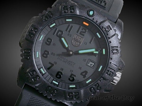 Luminox is my fav.
