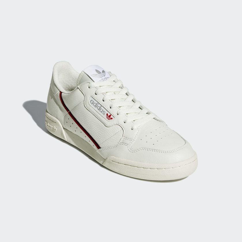 Continental 80 Shoes Off White / Off White / Scarlet B41680 ...
