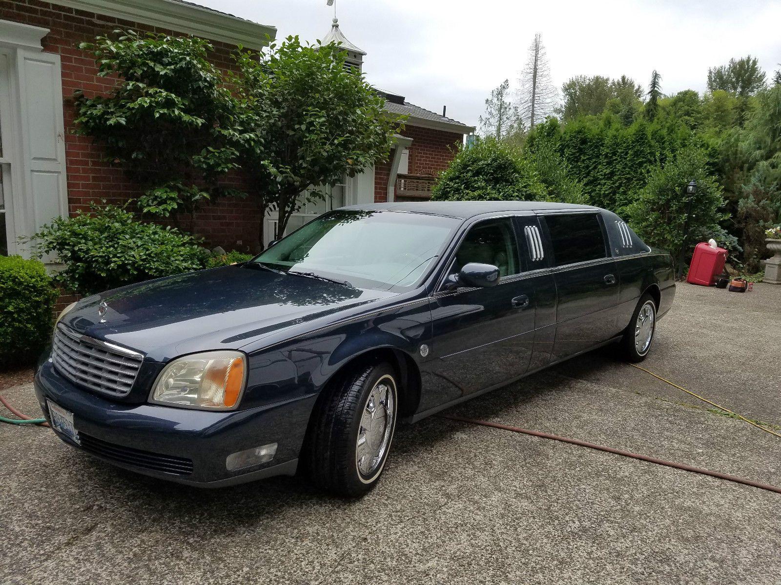 2000 cadillac deville limousine for sale