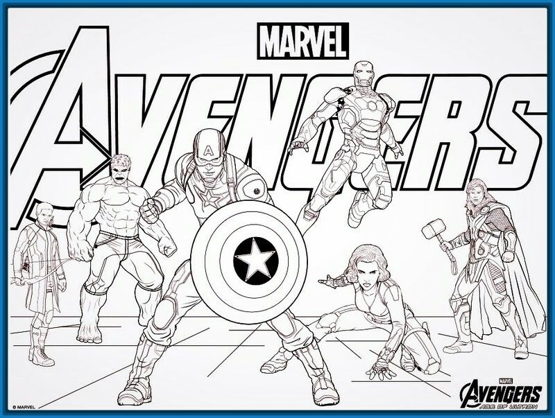 Pin de KONPANYA KARTOONS en Avengers para colorear | Pinterest ...
