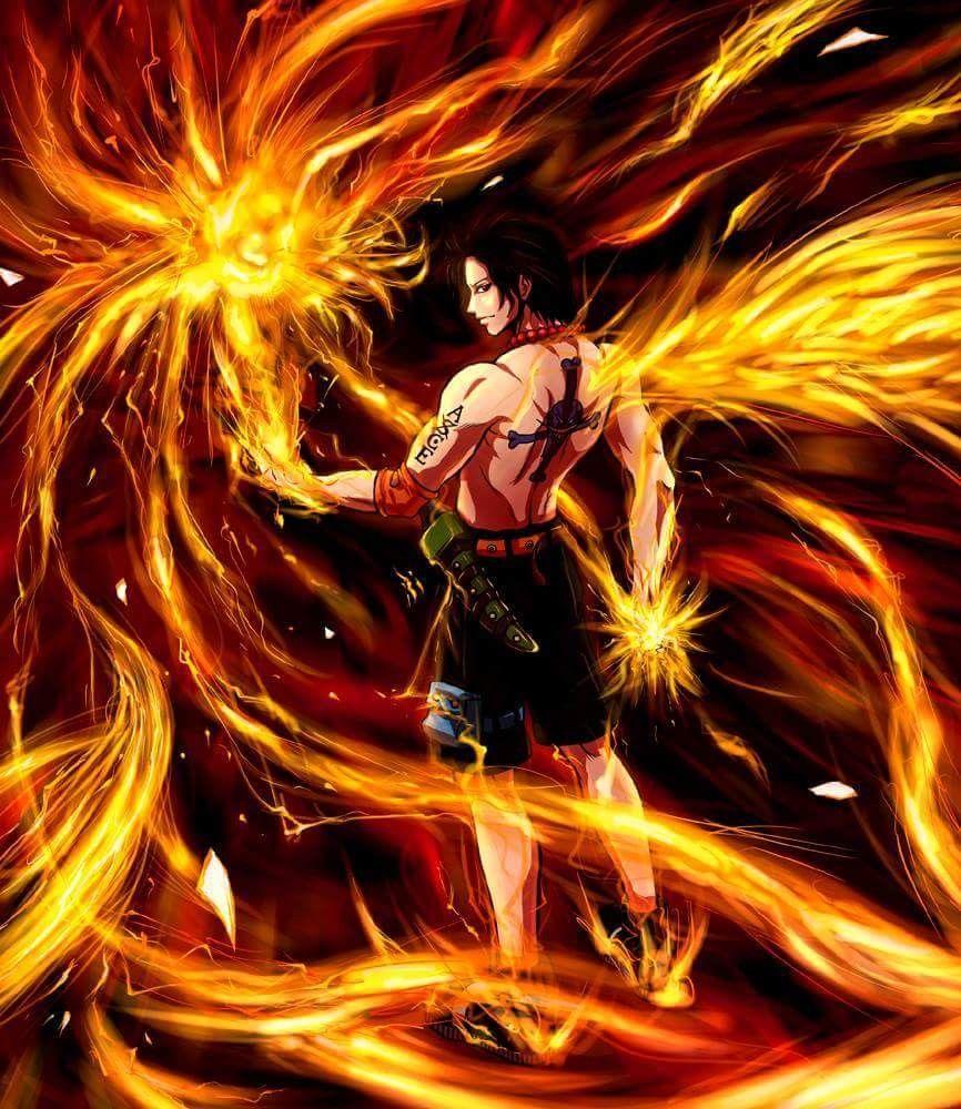 Portgas D Ace One Piece Gambar Gambar Anime Animasi