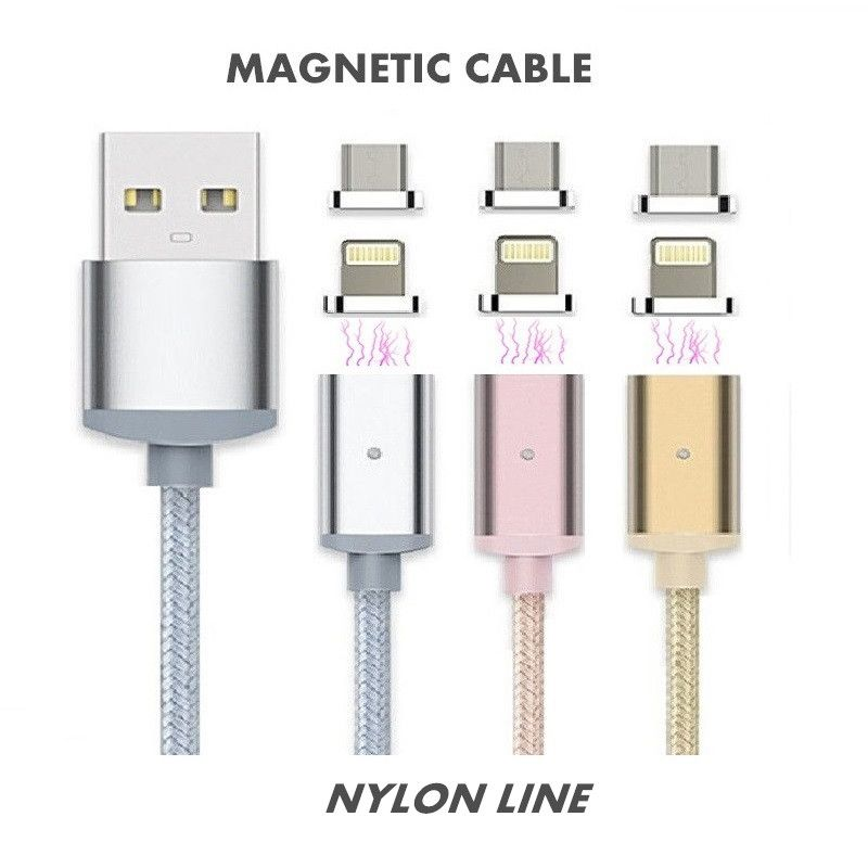 Cable Usb Para Iphone 5s Original: Elough 2.4A Fast Charge Micro USB Magnetic Cable For iPhone 6 6s 5 rh:pinterest.com,Design