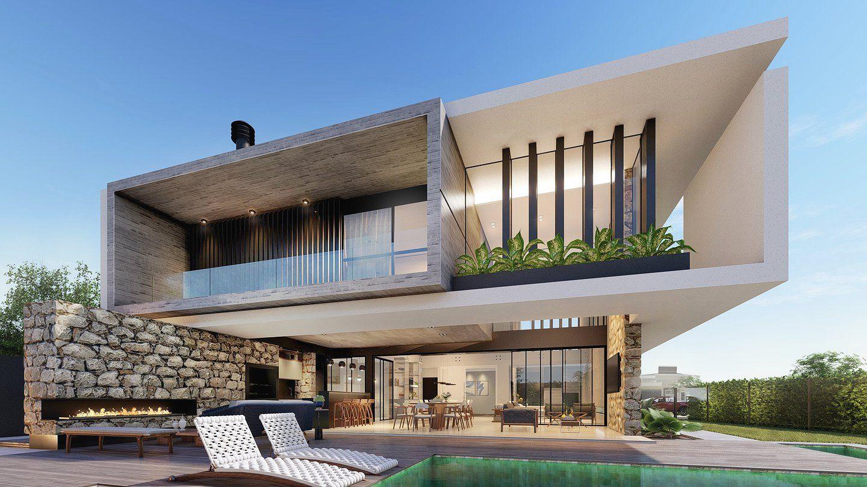Lima arquitetos arquitetos em campo grande ms em 2019 for Casa minimalista lima