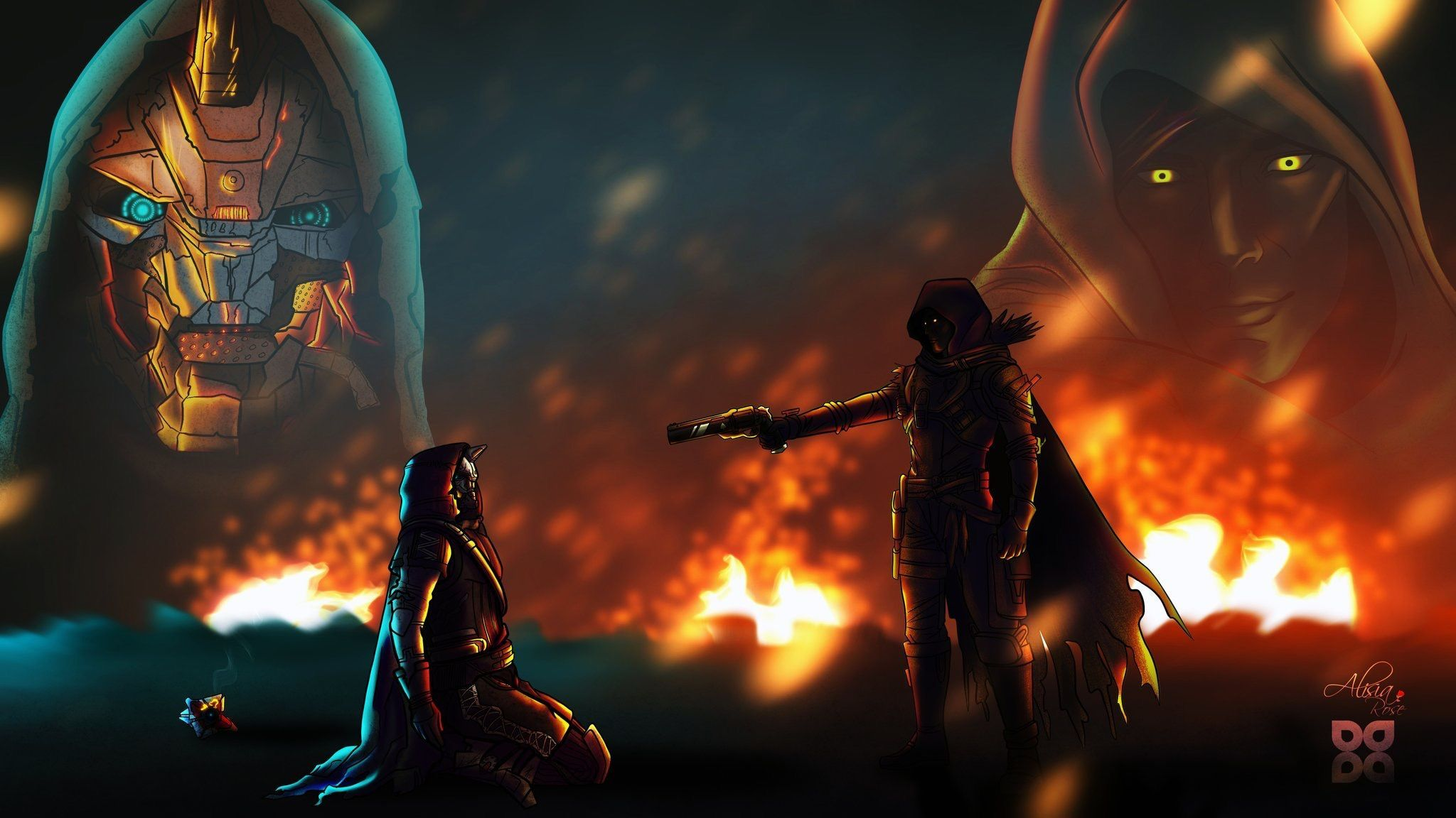 Cayde 6 Wallpapers High Quality Destiny Game Destiny Comic Destiny Hunter