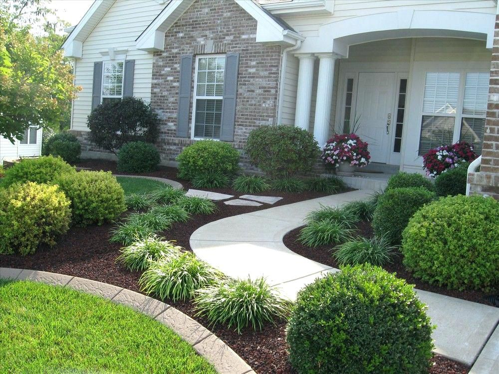 Front House Landscaping Simple Fresh And Beautiful Yard Ideas Zone 4 5 Curb Appeal Fro Front Yard Landscaping Design Front Yard Garden Front Yard Landscaping