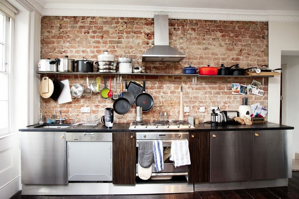 Industrial Kitchen Design Ideas Part - 28: 25 Whimsical Industrial Kitchen Design Ideas