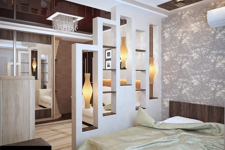 80 Incredible Room Dividers And Separators With Selves Ideas 33 Hoommy Com Room Divider Walls Glass Room Divider Half Wall Room Divider