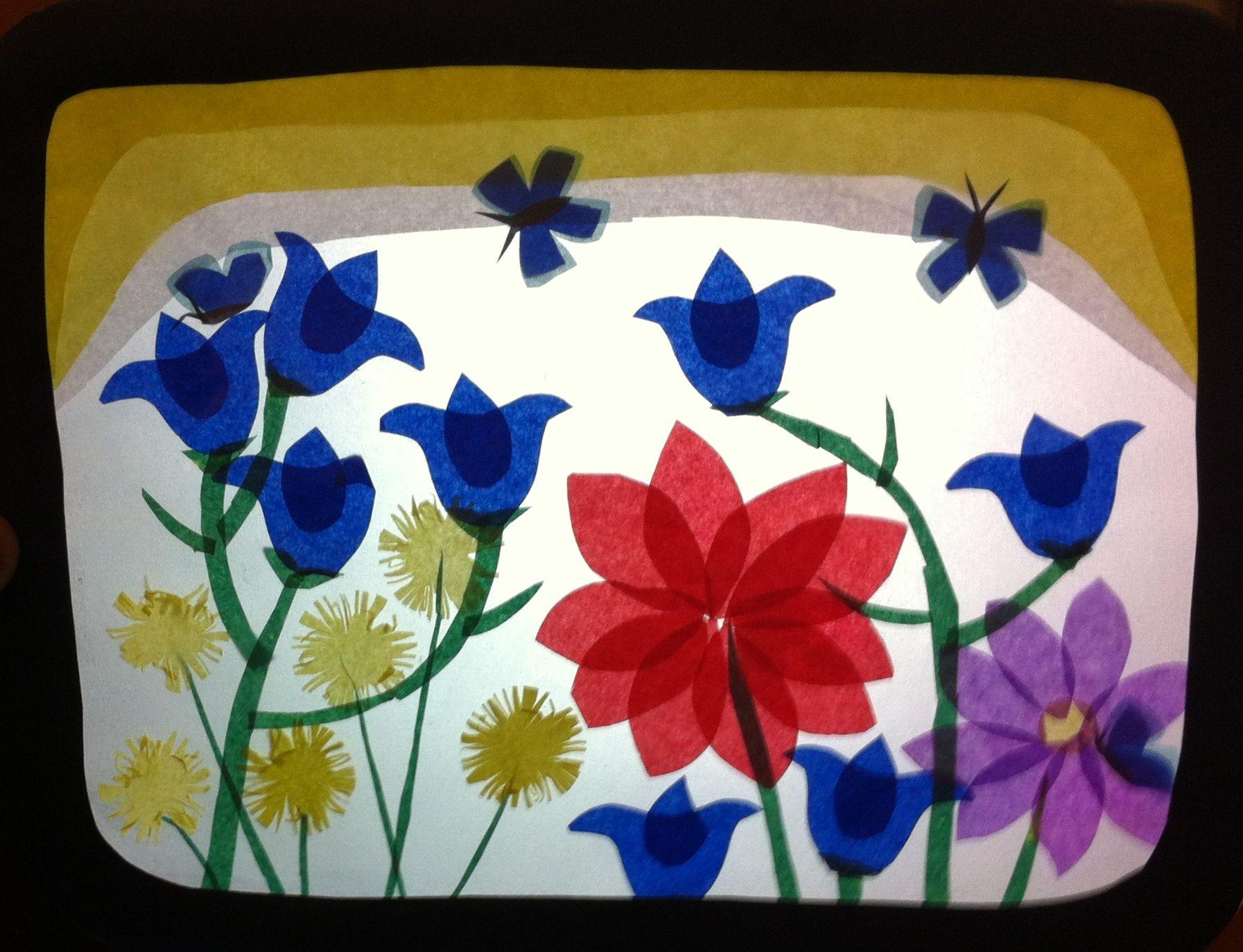 Primavera transpar ncia papier pinterest fensterbilder transparentpapier und silhouetten - Fensterbilder transparentpapier ...
