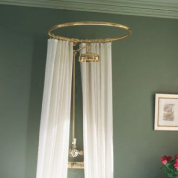 Pecos Round Shower Curtain Rail-30\