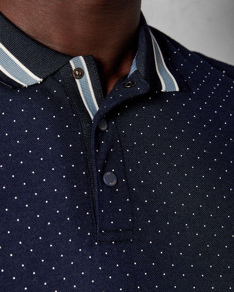 Gant Contrast Collar Stripe Rugger Camisa Manga Larga para Hombre