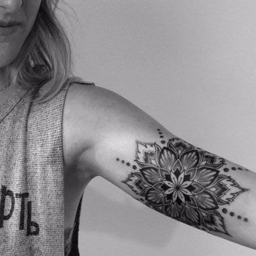 Significado De Tatuajes De Mandalas En El Brazo Y La Pierna