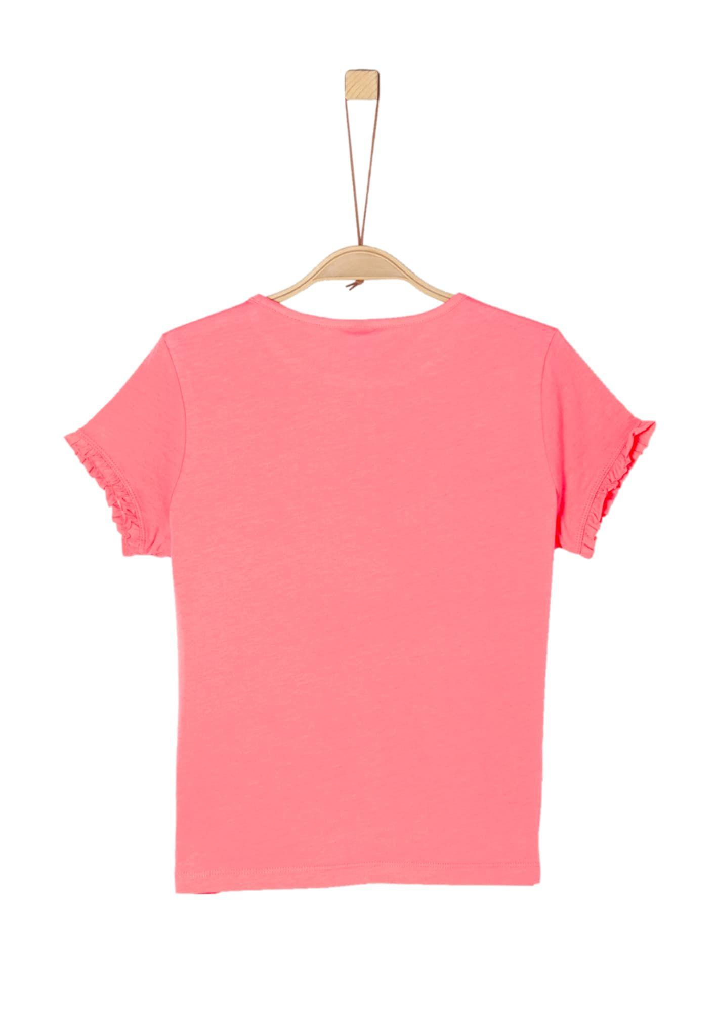 S Oliver Junior T Shirt Madchen Altrosa Hellrot Grosse Xl Shirts T Shirt Umstandsmode