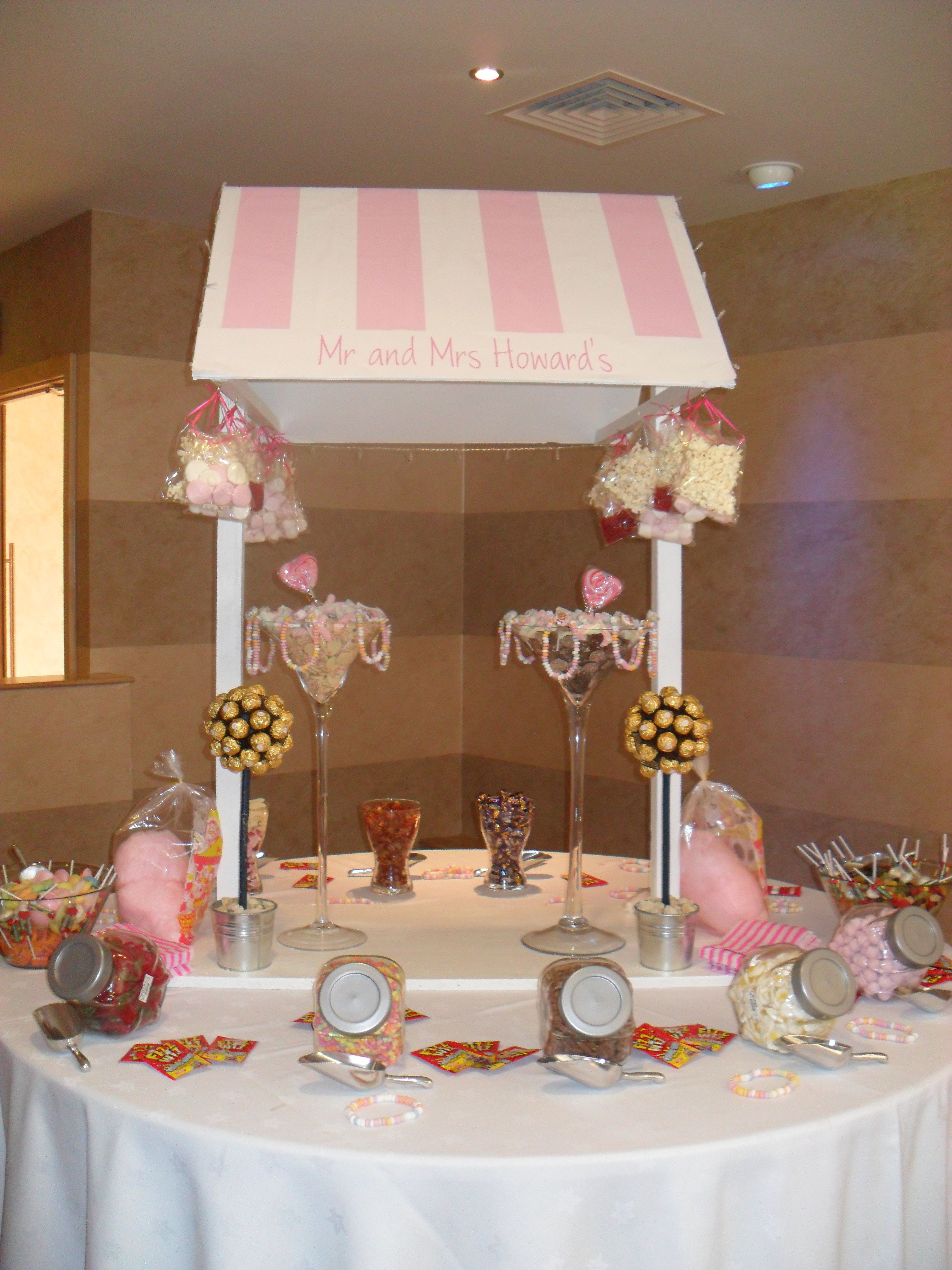 Candy Buffet Cake Table Decorations Candy Bar Cake Lolly Buffet