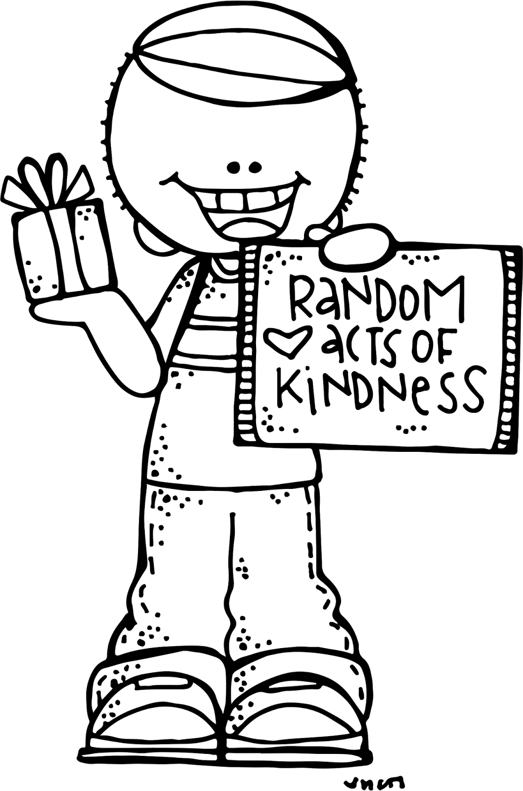 Happy National Random Acts of Kindness Day clip art ...