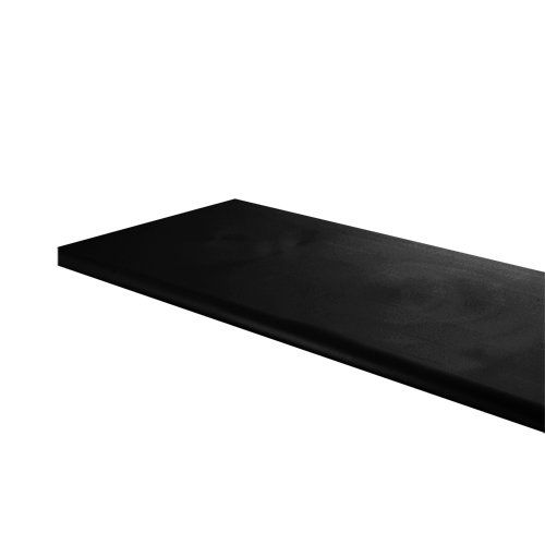 12 Inch X 48 Inch Wood Shelf For Slat Wall Grid Wall And Merchandiser Displays Black More Info Could Be Found At Melamine Wood Slat Wall Wood Shelves