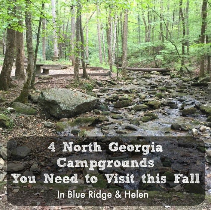 Full hookup campgrounds in north georgia