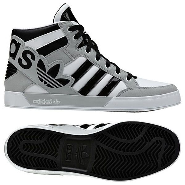 competitive price 5c379 c8d25 Adidas High Tops Shoes Gold Snake Scale Black for Men and Women ... https