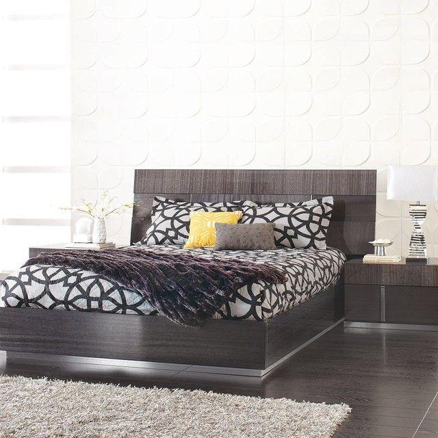 Captivating Mondiana Queen Bed U2013 Modern U2013 Bedroom U2013 Other Metro U2013 Plummers Furniture