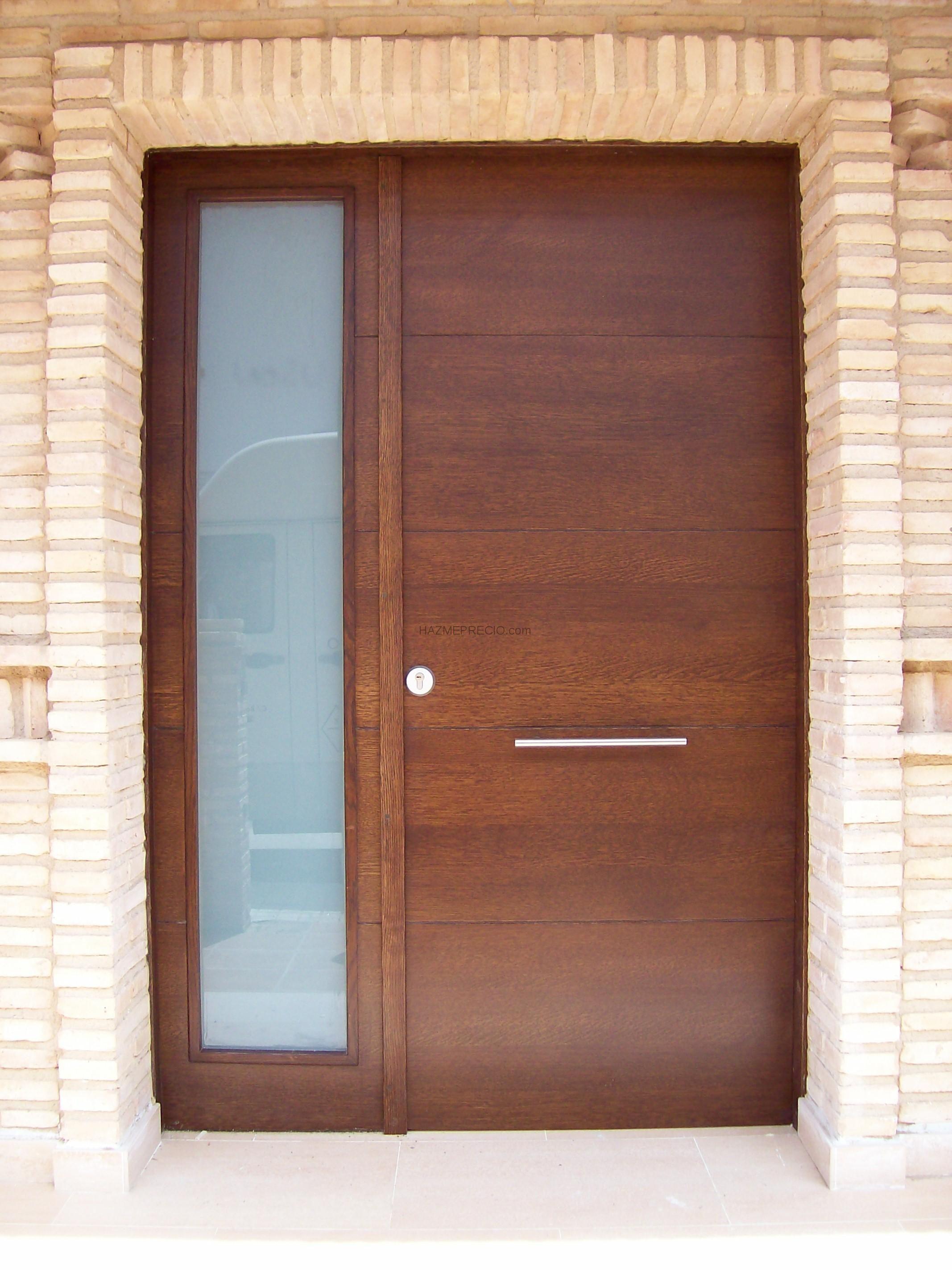 Puertas madera exterior precios 50907 puertas ideas for Puertas de madera precios
