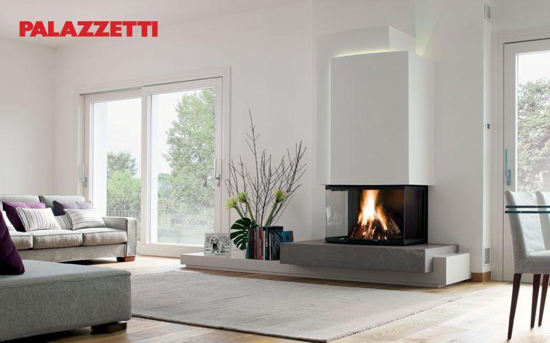 Wohnzimmer Kamin Modern : Geschlossener Kamin   Kamine   Decofinder