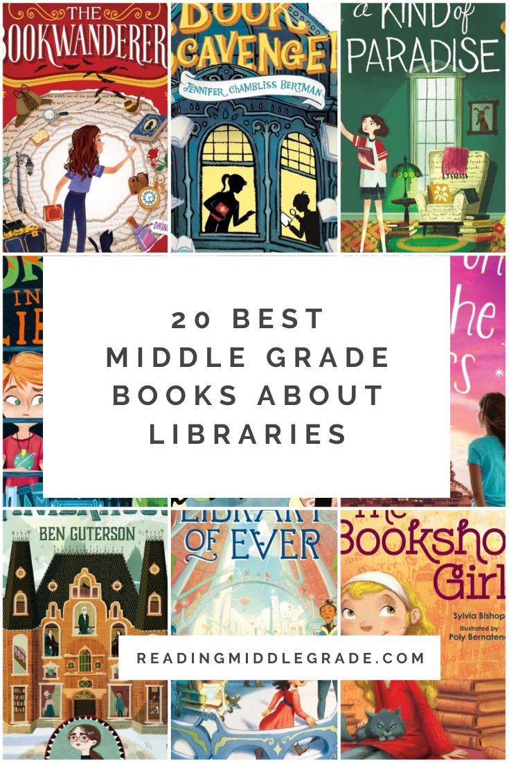 20 best middle grade books about libraries in 2021