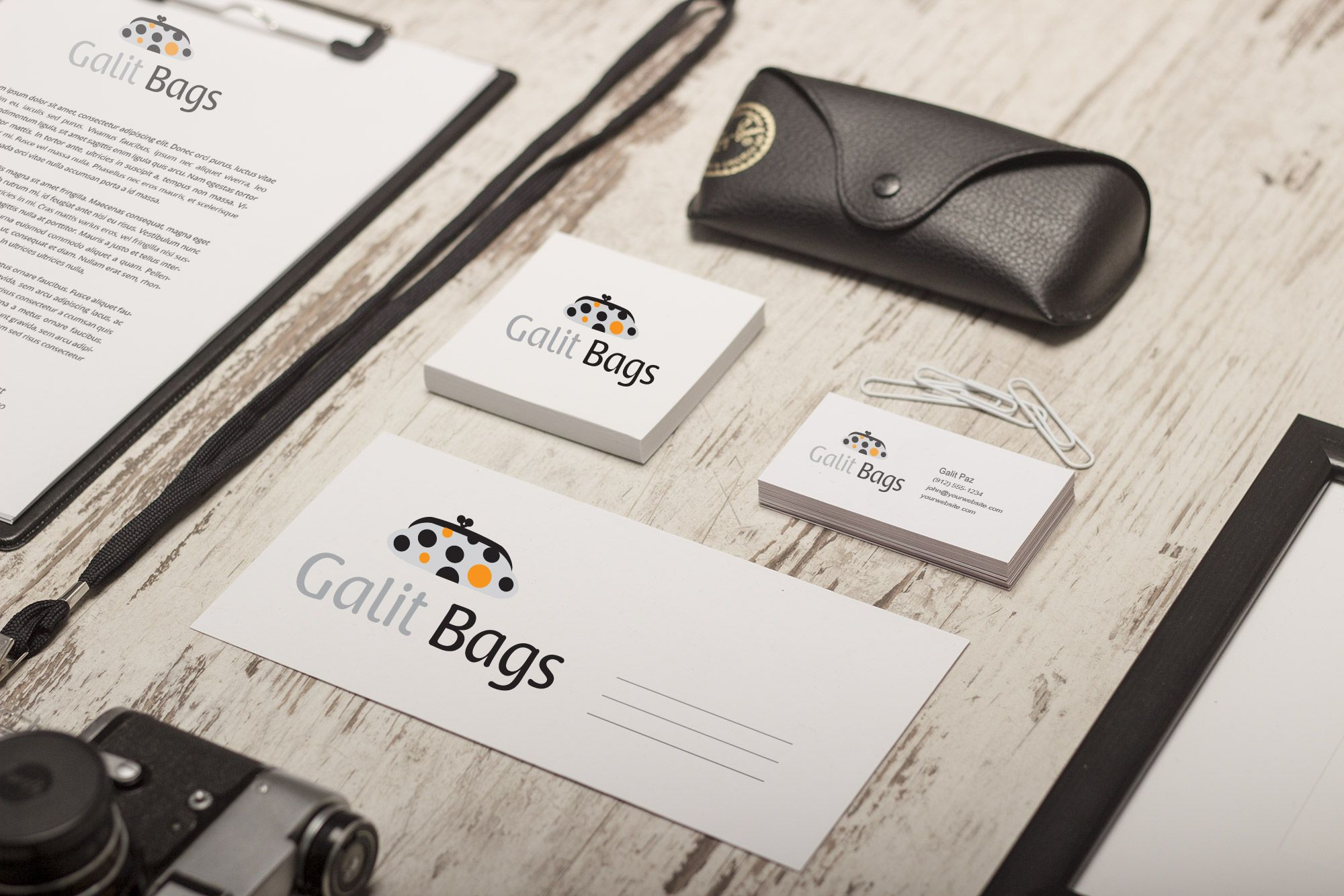 Galit Bags - Branding http://www.yaelsegall.com/