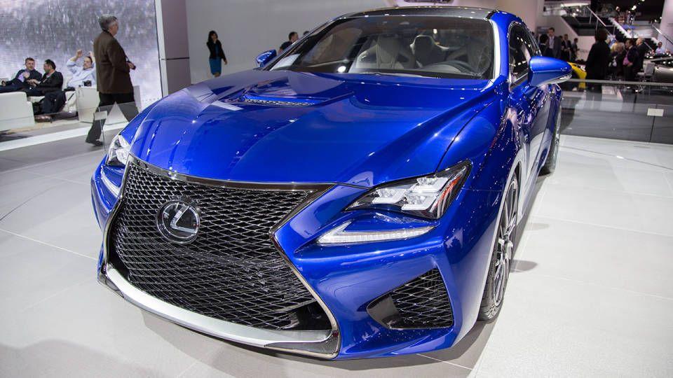 Photos 2015 Lexus RCF at NAIAS Detroit auto show, Car