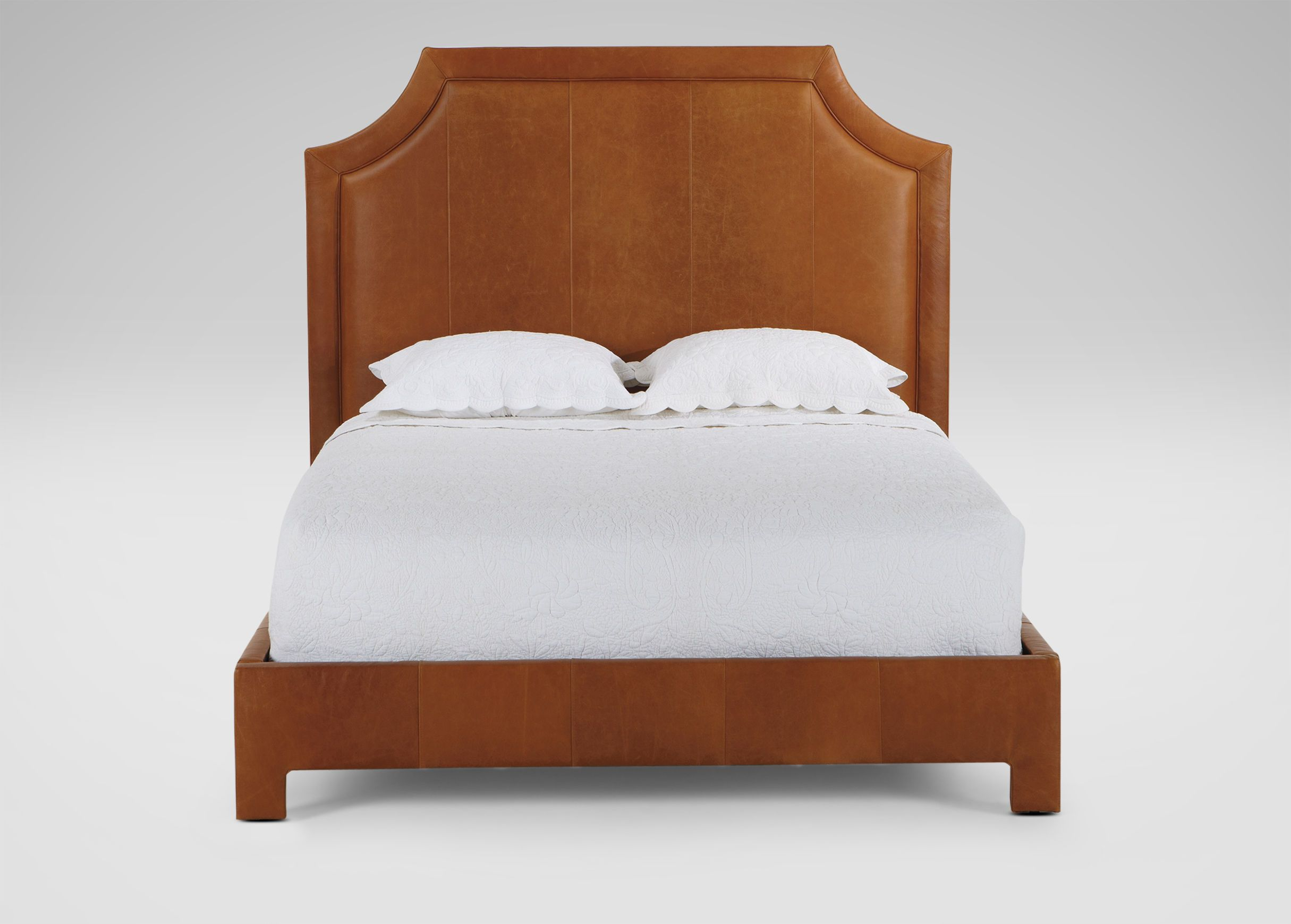 Alison Leather Bed - Ethan Allen US