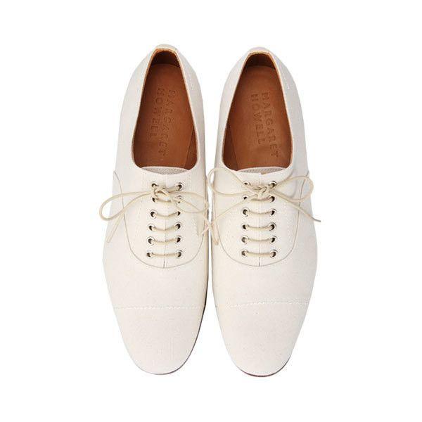 MARGARET HOWELL Cotton Canvas Shoes
