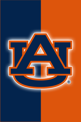 Get A Set Of 12 Officially Ncaa Licensed Auburn Tigers Iphone Wallpapers Sized For Any Model Of Iphon War Eagle Auburn Auburn University Auburn Tigers Football