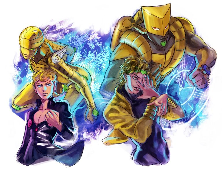 DIO--Giorno--The World--Gold Experience Requiem | JoJo ในปี 2019